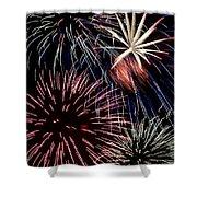 Fireworks Spectacular Shower Curtain