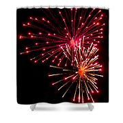 Fireworks1 Shower Curtain