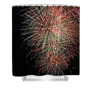 Fireworks6500 Shower Curtain
