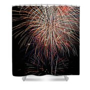 Fireworks6503 Shower Curtain