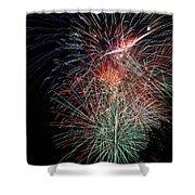 Fireworks6504 Shower Curtain