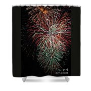 Fireworks6506 Shower Curtain