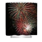 Fireworks6509 Shower Curtain