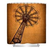 Firey Inspiration Shower Curtain by Evelina Kremsdorf