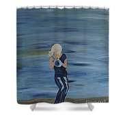 Firmly Grounded - Cindy Bradley Shower Curtain