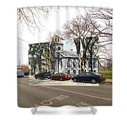 First Baptist Church And Walley School In Bristol Ri Shower Curtain