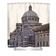First Church Of Christ Scientist Boston Shower Curtain