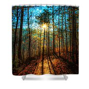 First Day In Heaven Shower Curtain