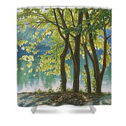 First Day Of Autumn Shower Curtain
