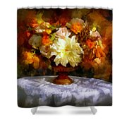 First Day Of Autumn - Still Life Shower Curtain