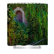 First Door On The Left Shower Curtain by Bill Gallagher