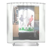 First Ever World Title Fight Cribb V Molineaux Shower Curtain