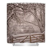 First Fall Of Snow Shower Curtain