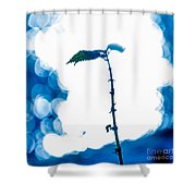First Frost-2 Shower Curtain