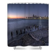 First Hint Of Sunlight Shower Curtain