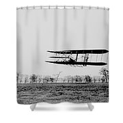 First In Flight Shower Curtain