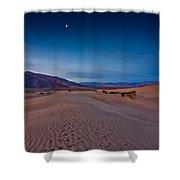 First Light Dunes Shower Curtain