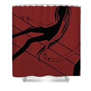 First Love   Number 15 Shower Curtain