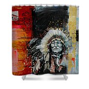 First Nations 11 Shower Curtain