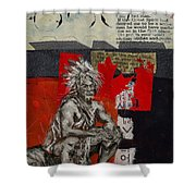 First Nations 14 Shower Curtain