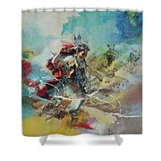 First Nations 20 Shower Curtain