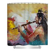 First Nations 22 Shower Curtain