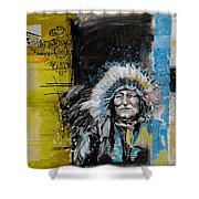 First Nations 33 Shower Curtain