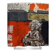 First Nations 36 Shower Curtain
