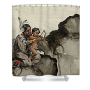 First Nations 38 Shower Curtain