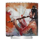 First Nations 39 Shower Curtain