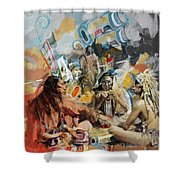 First Nations 42 Shower Curtain