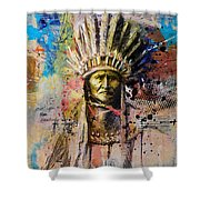 First Nations 6 Shower Curtain