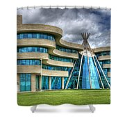 First Nations University Of Canada Shower Curtain