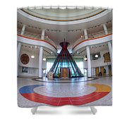First Nations University Of Canada Interior Shower Curtain