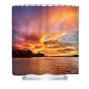 First Of November Shower Curtain