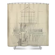 First Order Lighthouse Cape Hatteras Shower Curtain