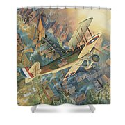 First Over The Front Shower Curtain by Randy Green
