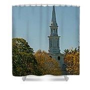 First Parish - Lexington Shower Curtain