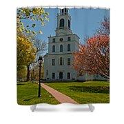 First Parish Church  Shower Curtain
