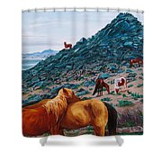 First Signs Of Spring Shower Curtain