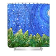 First Snow By Jrr Shower Curtain