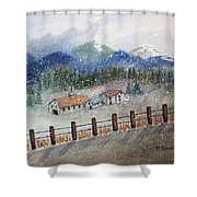 From The Road Shower Curtain