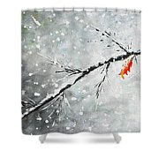 First Snowfall Shower Curtain