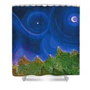 First Star Wish By Jrr Shower Curtain