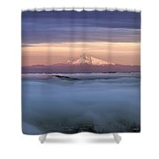 First Sunset Of 2014 Shower Curtain