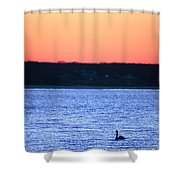 First To Sea Shower Curtain