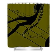First Touch  Number 2 Shower Curtain