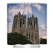First United Methodist Church Fort Worth Shower Curtain