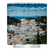 First View  8x10  Shower Curtain