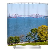 Firth Of Forth Shower Curtain